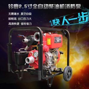 電啟動2.5寸柴油機消防泵合肥包河區