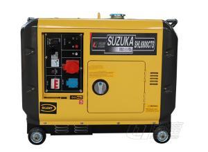 政务文化区专用5KW超静音柴油发电机组