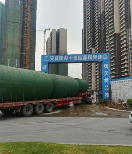 广州CG-GB6-SQ16钢筋砼16立方成品预制蓄水池厂家直销价格实惠上门安装