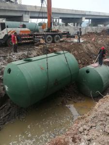 广州白云神山钢筋混凝土地埋式新型预制蓄水池厂家承压强度高占地面积小且防渗漏