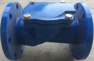 H44X橡胶瓣止回阀,软密封止回阀