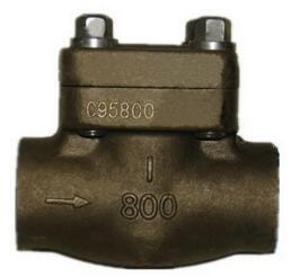 青铜锻钢焊接止回阀