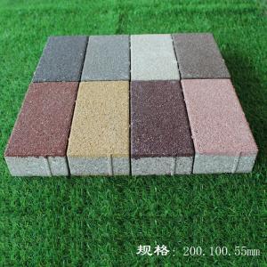 低价直销四川陶瓷透水砖?海绵城市热岛效应路面广场砖