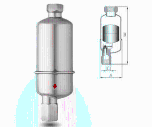 臺灣DSC全不銹鋼浮球式 自動排液閥11LD