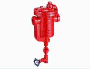 台湾DSC铸铁双节流孔倒筒式蒸汽疏水阀911DC