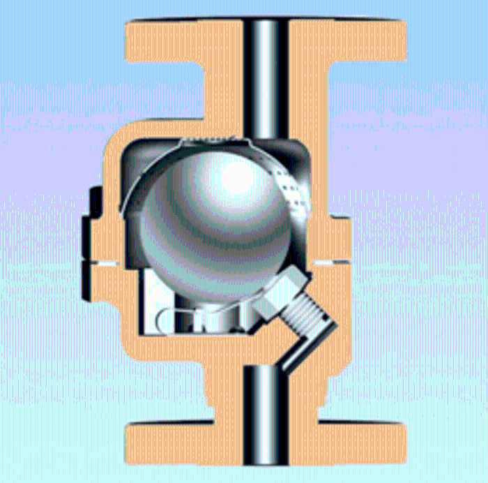 臺灣DSC自由浮球式蒸汽疏水閥(立式安裝)F3NL