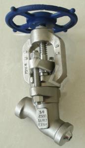 J65Y高压Y型截止阀