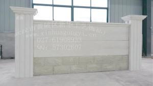廠家直銷水泥藝術圍墻 水泥圍墻板模具 混凝土藝術圍墻模具