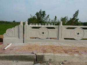 鳳凰圖案鑄造石欄板模具水泥制品模具