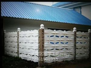 藝術預制圍墻 grc水泥圍欄圍墻模具