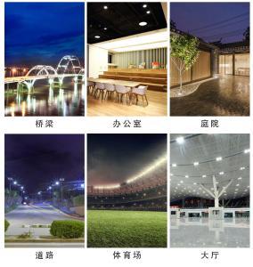探照燈超亮強光遠程戶外防水大功率工地施工照明燈LED投光燈射燈