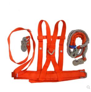 加厚電工雙背雙肩雙保險雙鉤安全帶電力高空作業腰帶工程施工腰繩