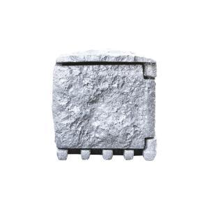 别墅专用高端防水盒插座防雨户外室外庭院花园树脂露天花圃石头屋