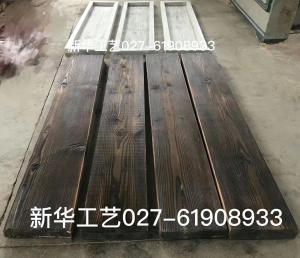 水泥仿木纹地坪模具,仿木纹铺板砖混凝土,仿木路面模具